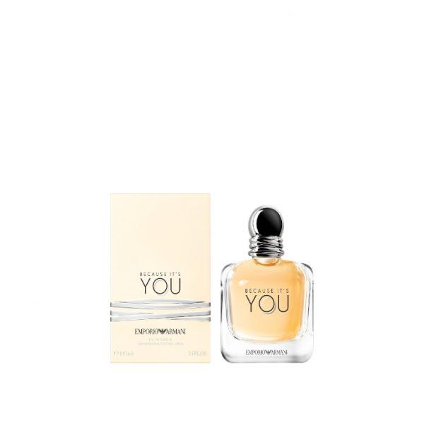 armani because it's you eau de parfum