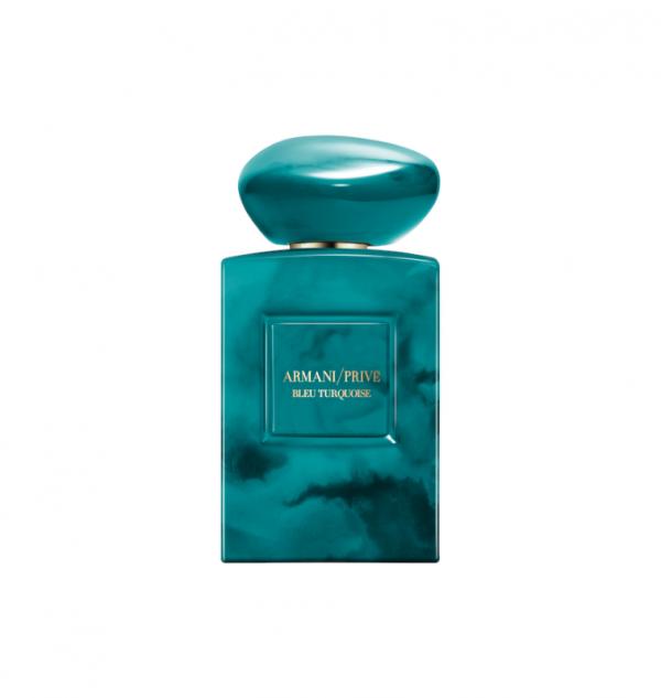 armani privè bleu turquoise