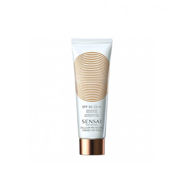 sensai silky bronze cellular protection