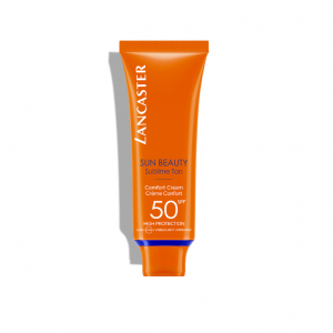 lancaster sun beauty comfort cream spf 50