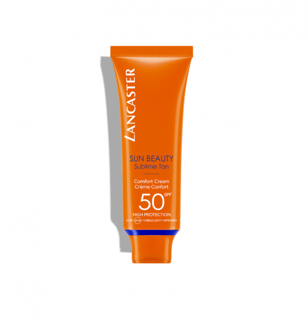 lancaster sun beauty comfort cream spf 50