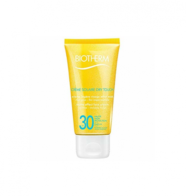 biotherm dry touch solare
