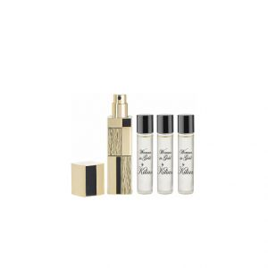 Kilian-Woman-In-Gold-Travel-Spray-with-its-4-x-.25-oz-refills
