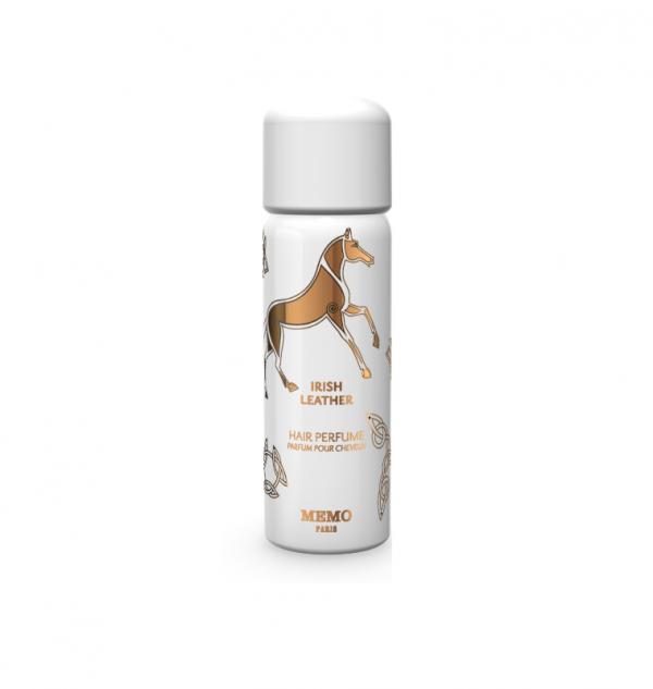 memo irish leather hair spray