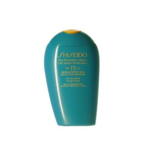 shiseido lozione solare spf 15