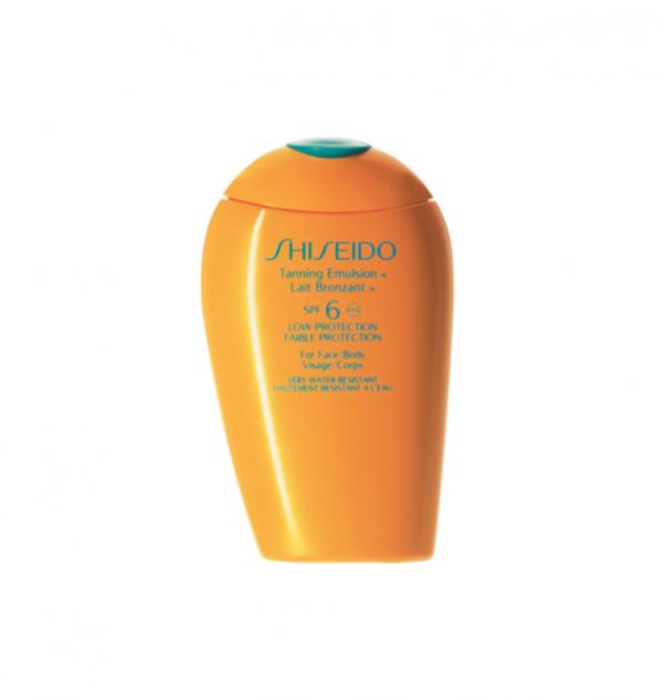shiseido sun tunning emulsion spf 6