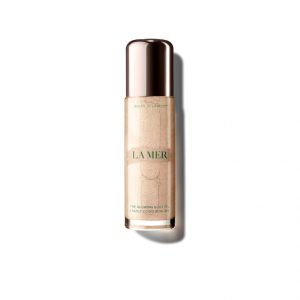 la mer glowing body oil