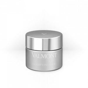 valmont clarifying pack maschera viso esfoiante illuminante