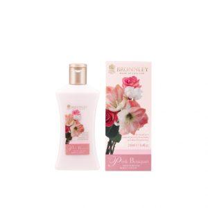bronnley pink peony body lotion