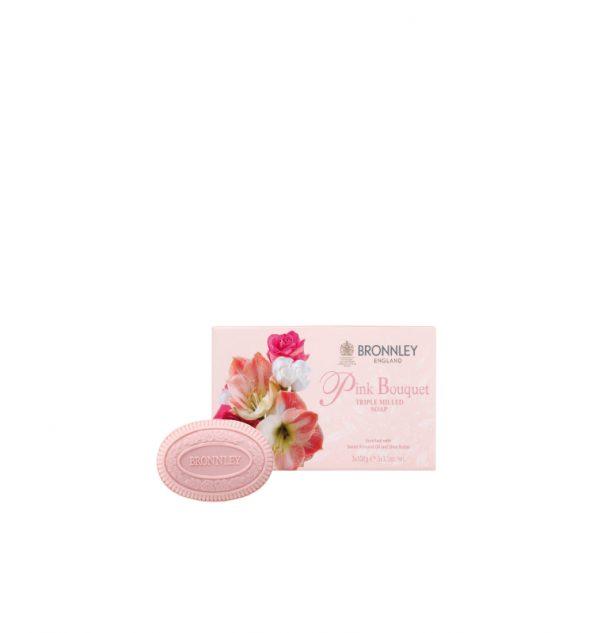 bronnley saponetta pink bouquet