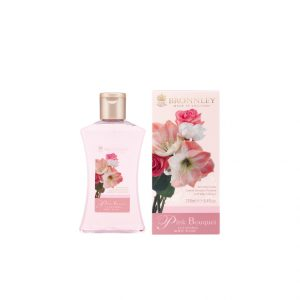 bronnley pink bouquet bagnodoccia