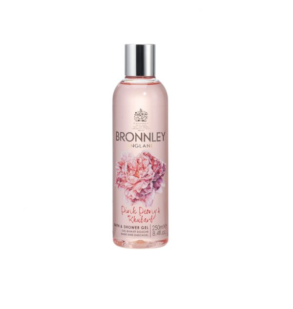 bronnley pink peony showergel