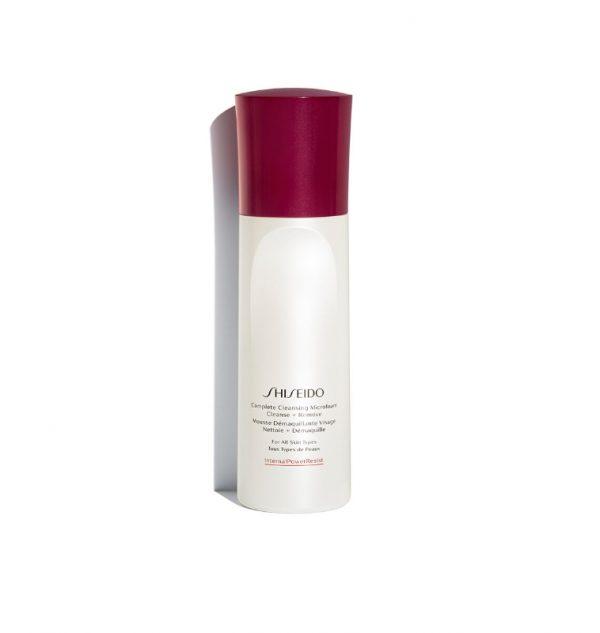 shiseido complete cleansing microfoam 180 ml