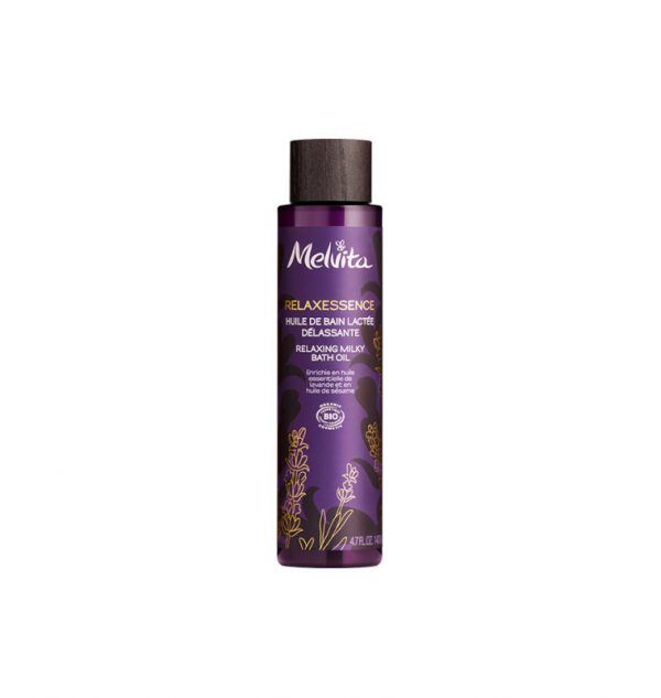 melvita relaxessence relaxing milky oil