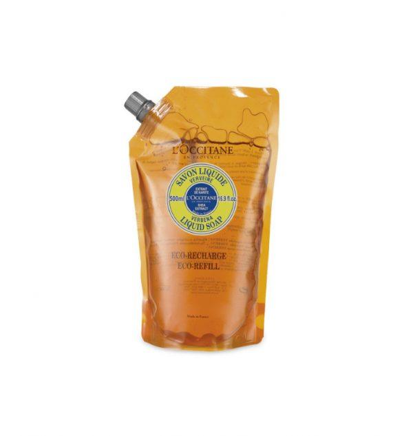 l'occitane verveine sapone liquiod mani e corpo ricarica 500 ml