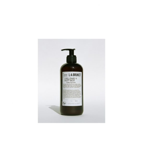 la bruket n.222 hand and body wash