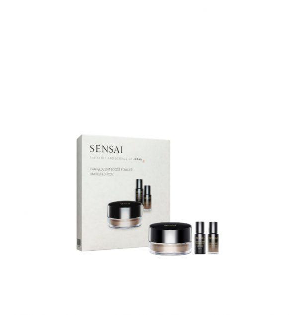 sensai translucent gift set glowing base + sheer foundation