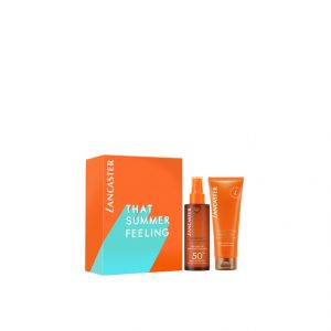 lancaster sun beauty satin dry oil set