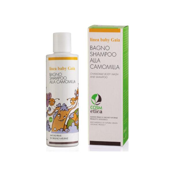 tata natura gaia-gift-baby-shampoo-camomilla-ml-200-