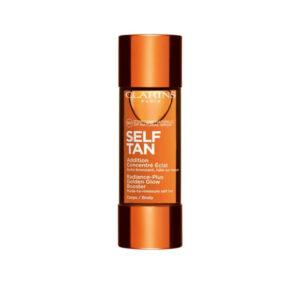 clarins self tan addition body